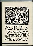 Places: 7 Prints From Woodblocks Designed and Engraved by Paul Nash.